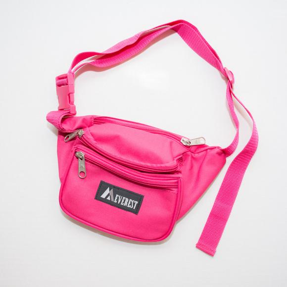 Everest Handbags - Everest Hot Pink Retro Fanny Waist Pack